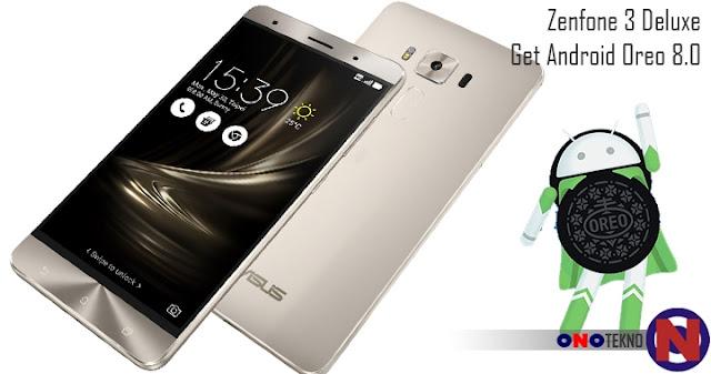 Android Oreo Sambangi Zenfone 3 Deluxe ZS570KL