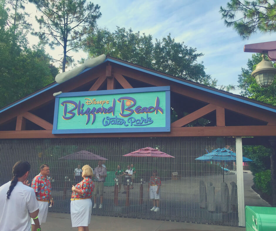 Blizzard Beach in Walt Disney World - one of the best places to find somewhere to eat in Walt Disney World theme parks.