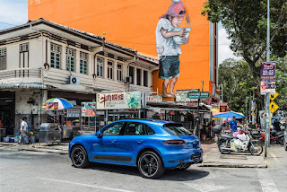 Discovering Penang with the Porsche Macan