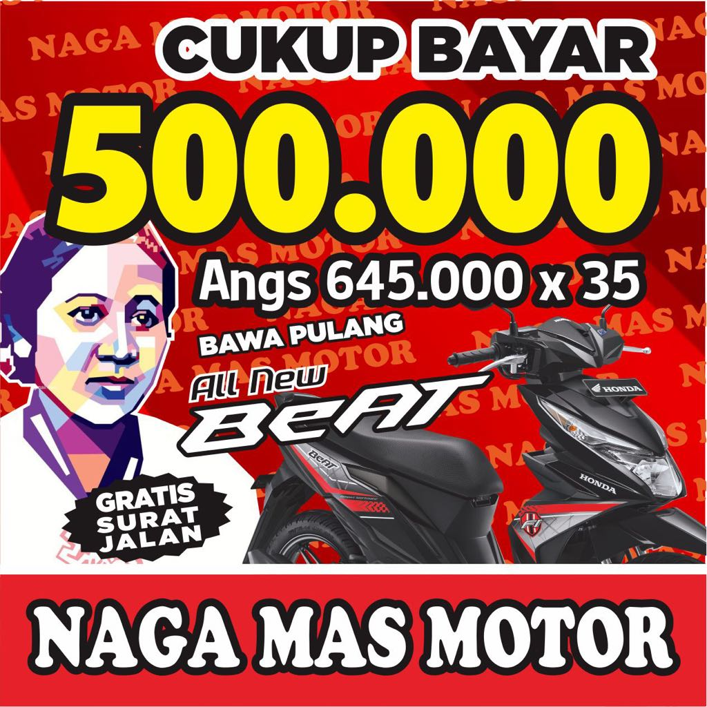 Promo Motor Honda Hari Kartini, April 2018