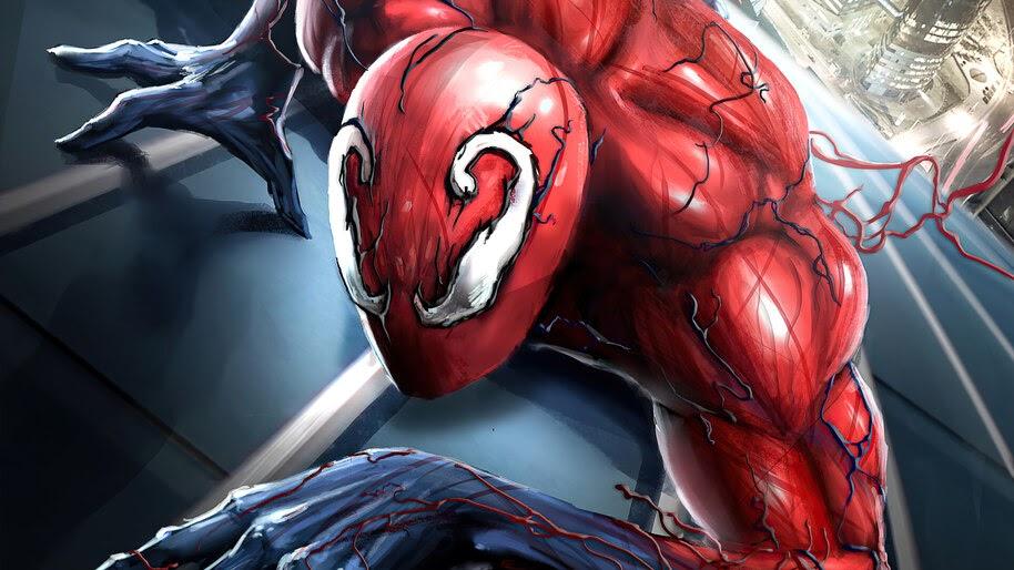 Spider-Man, Toxin, Symbiote, Suit, Costume, 4K, #6.2164