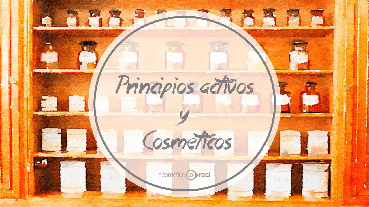 Principios activos y cosmeticos