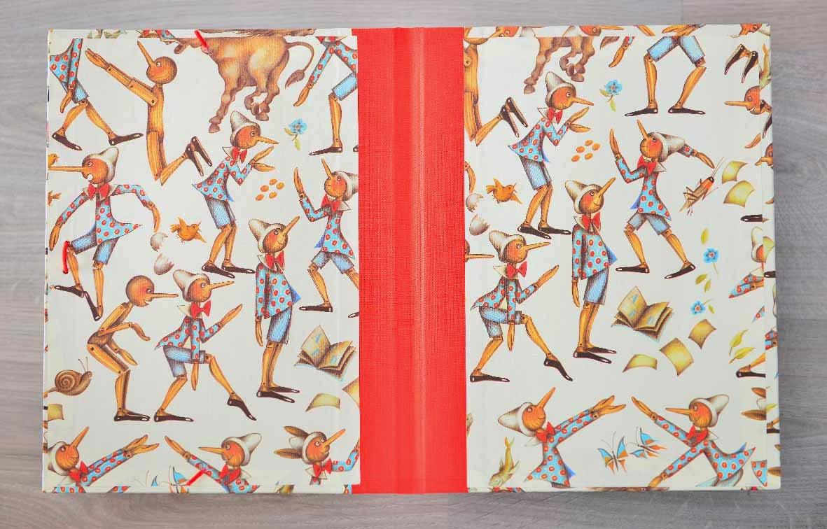Carpeta con goma, suitbook, tonaira, encuadernacion, bookbinding