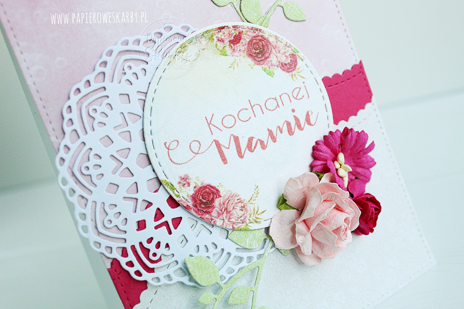 scrapbooking carmaking handmade rękodzieło ręcznie robiona kartka kartki dzień mamy matki prezent laurka mother's day mothers day cards card ilovedigi