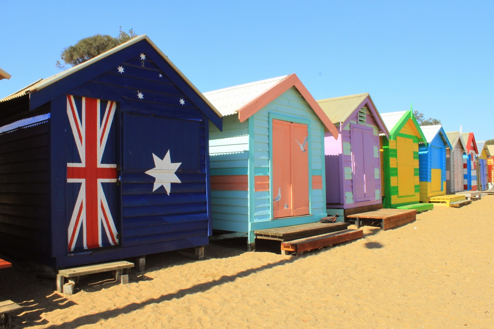 [澳洲工作假期系列] Brighton Beach 彩紅小屋 7