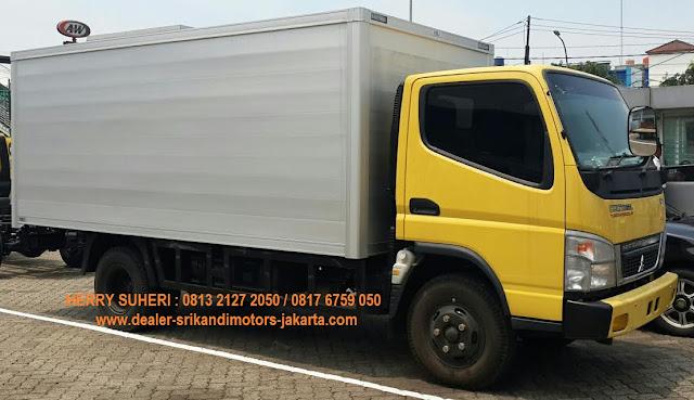 kredit colt diesel canter box alumunium 2018