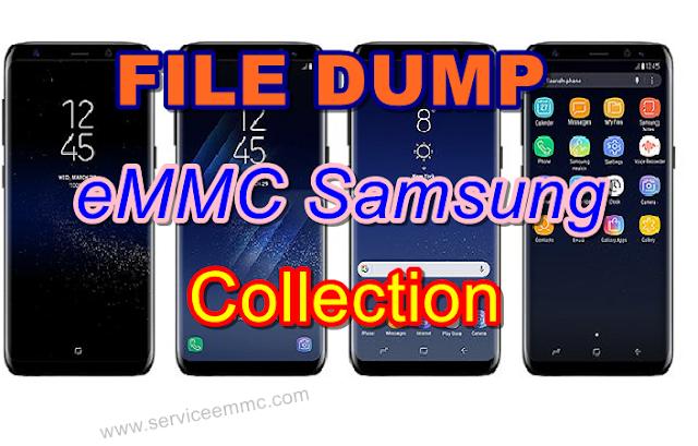All Model File Dump EMMC SAMSUNG