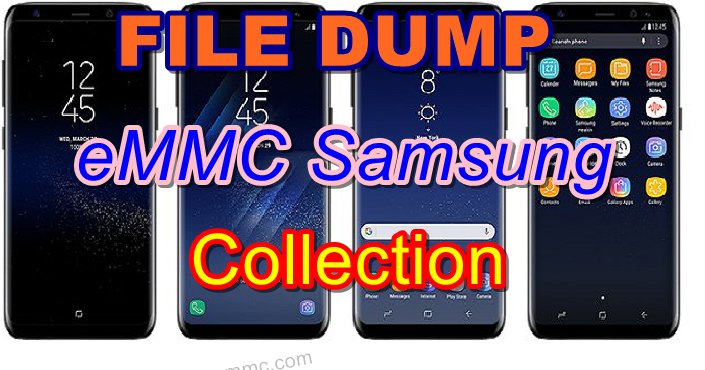 All Model File Dump EMMC SAMSUNG