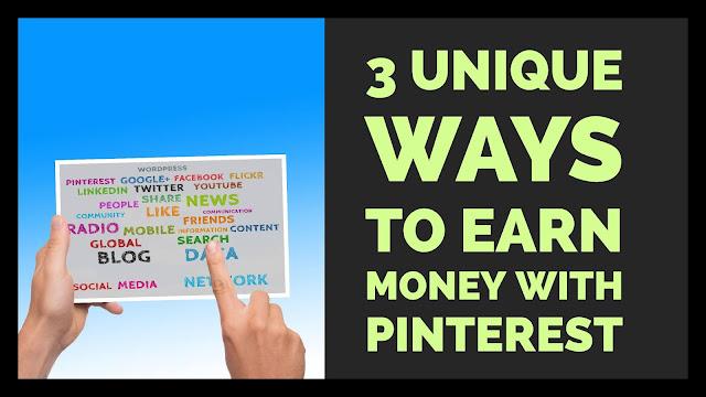 Earn Money With Pinterest.