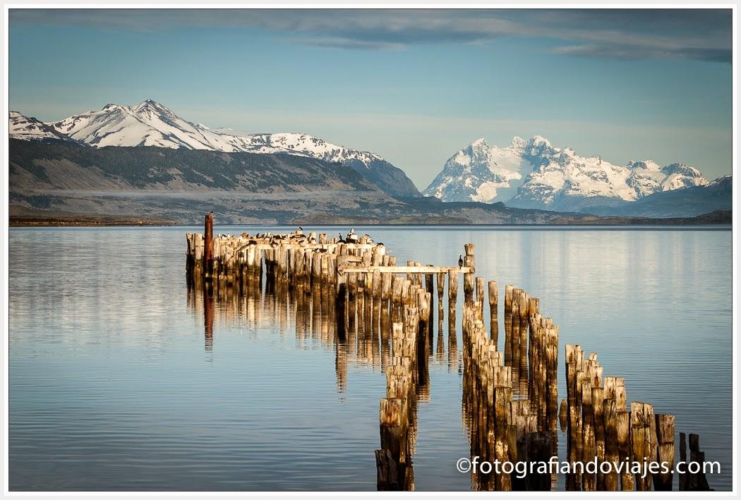Puerto Natales, en patagonia chilena