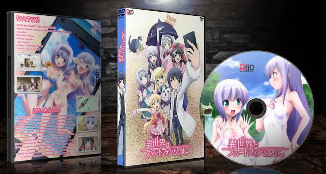 Isekai wa Smartphone to Tomo ni.   Cover DVD   MEGA  
