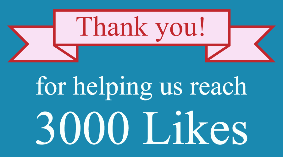 Keratoconus Group's Facebook page has reached 3,000 likes!