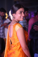 Shalini Pandey in Beautiful Orange Saree Sleeveless Blouse Choli ~  Exclusive Celebrities Galleries 016.JPG