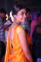 Shalini Pandey in Beautiful Orange Saree Sleeveless Blouse Choli ~  Exclusive Celebrities Galleries 016.JPG
