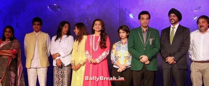 Jeetendra, Juhi Chawla, Dheeraj Kumar, N P Singh, Raveena, Juhi, ragini at Sony Pal Launch - Hot Pics