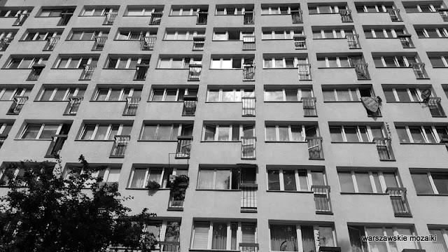 Warszawa Warsaw blokowisko Żoliborz
