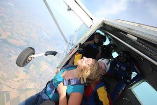 saut en parachute II