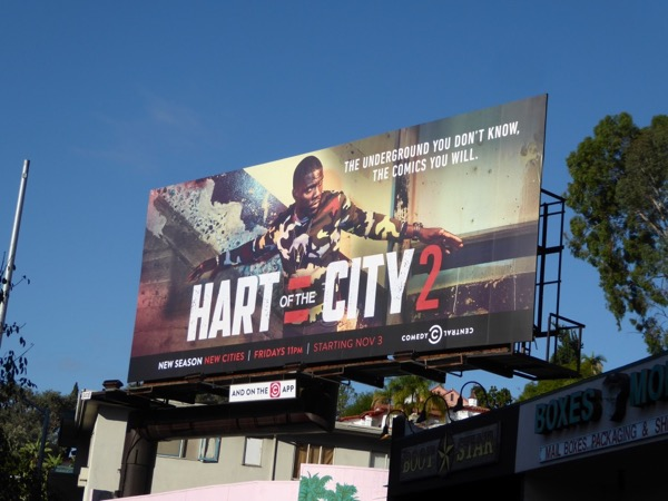 Hart of the City 2 billboard