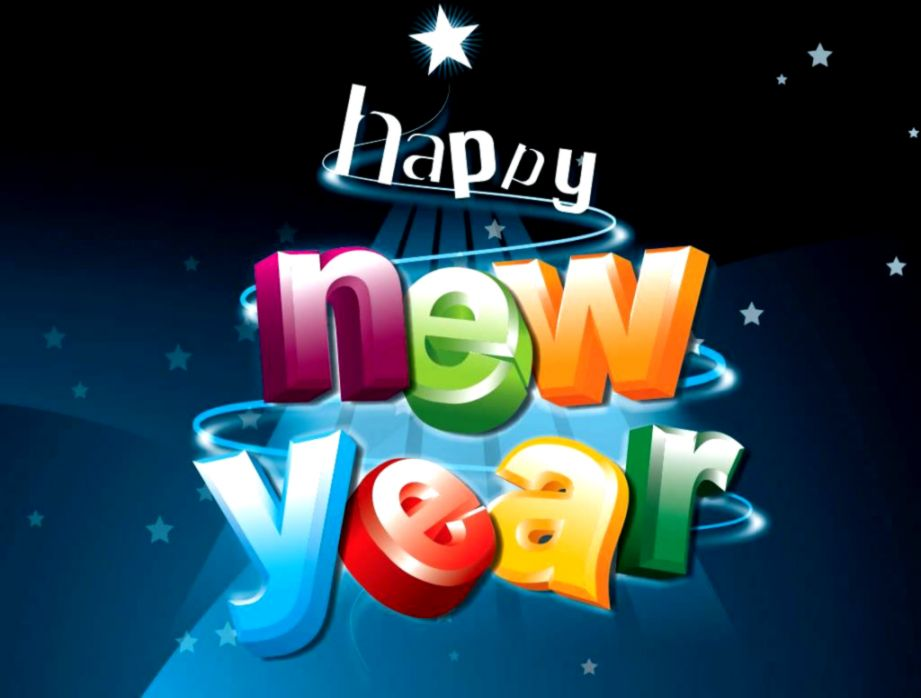 Design Funny New Year Wallpaper | One Wallpapers