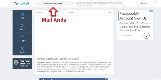 Apa itu Temporary Mail dan bagaimana cara membuatnya 2