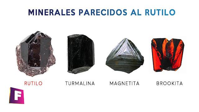 minerales parecidos al rutilo | foro de minerales
