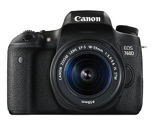 Canon EOS Rebel T6i /  760D