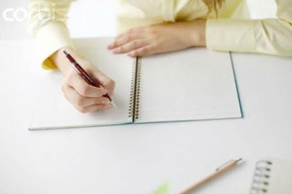 Membuat Surat Rekomendasi Kerja
