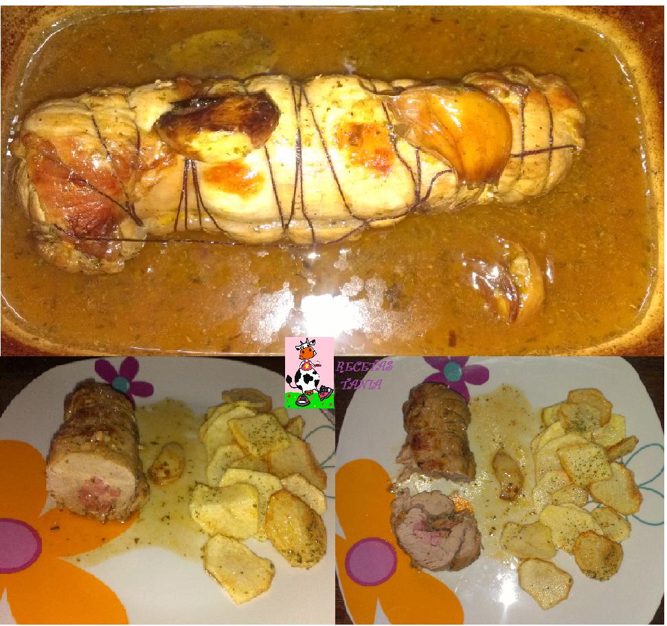 Recetas tania solomillo de cerdo relleno al horno - Solomillo a la pimienta al horno ...