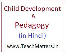 Child Development And Pedagogy Notes In Hindi Pdf