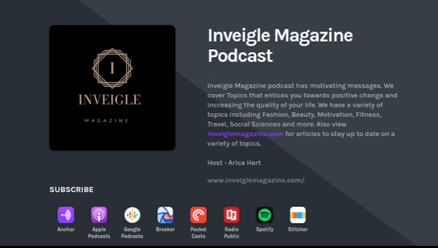 Inveigle Magazine Podcast