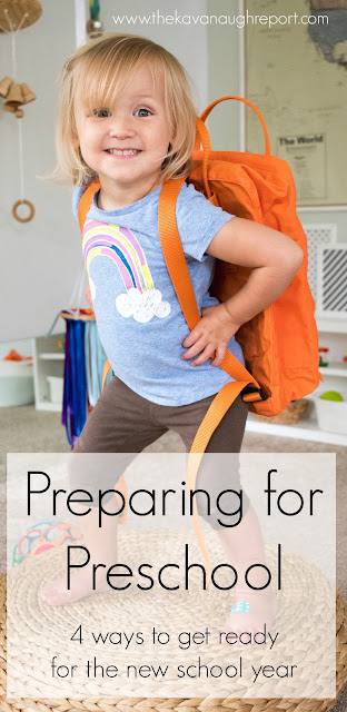 4 ways to prepare for Montessori preschool. Here are some ways to prepare your child for Children's House.