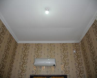 Pemasangan Plafon Pvc Shunda di Rumah Bapak Andreas