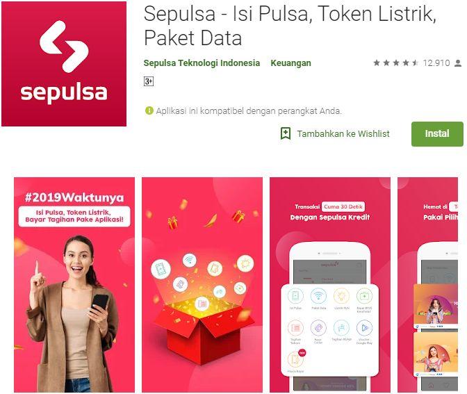 SEPULSA Aplikasi Android Jualan Pulsa Terbaik dan Termurah