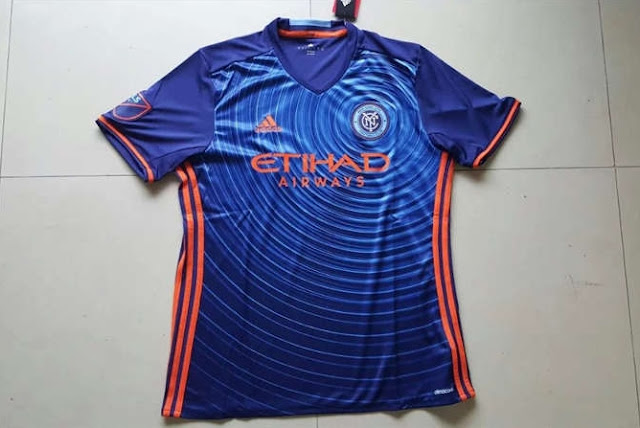 Jersey New York City Away Terbaru Termurah 2016-2017