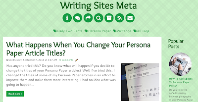 writing websites, sites, hubpages, persona paper, daily two cents, writedge
