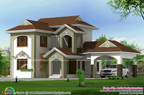 New style traditional mix home