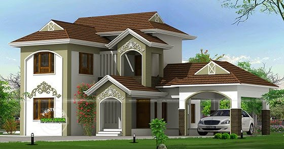 new look traditional mix home kerala home design and