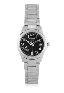 Casio Round Watch Ladies Analog Ltp - 1369D-1B