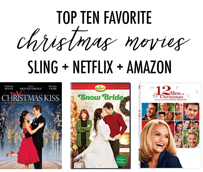 10 favorite christmas movies on sling netflix amazon - Best Netflix Christmas Movies