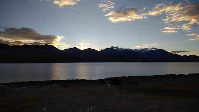Leh Ladakh Bike Trip, Pangong Lake