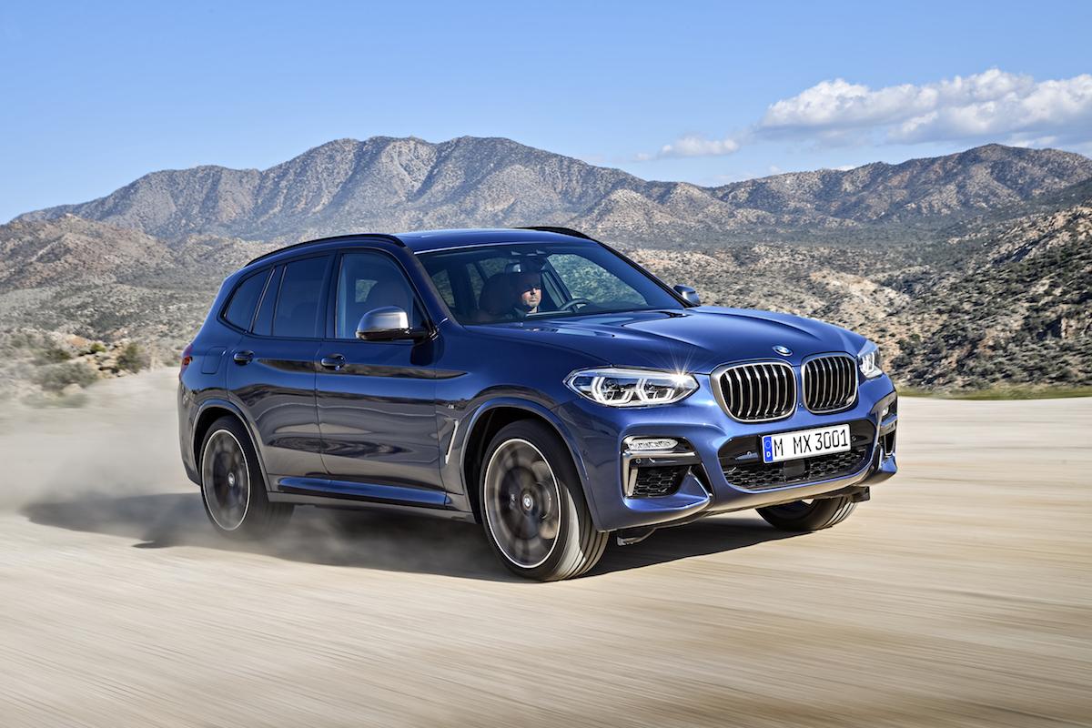 Nuova BMW X3 2017/2018