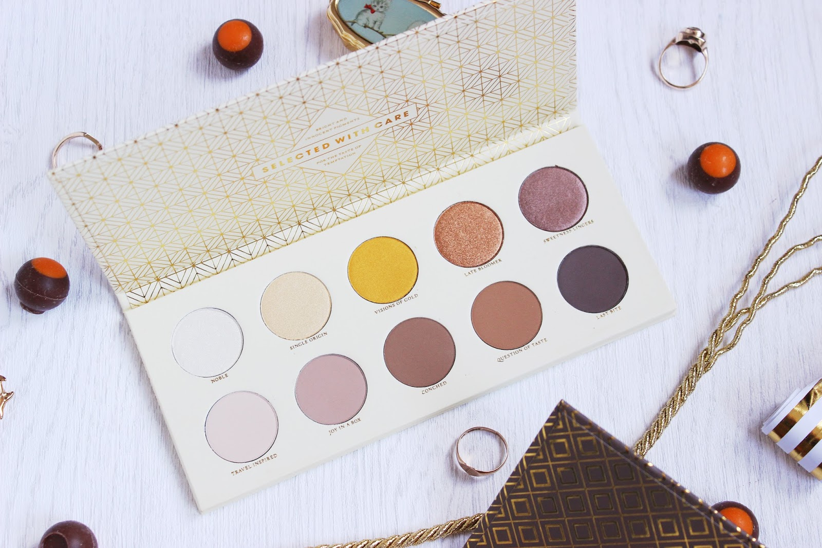 Zoeva Plaisir Chocolate Box palette collection review