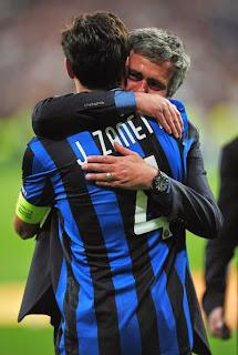 the special one mourinho dengan zanetti