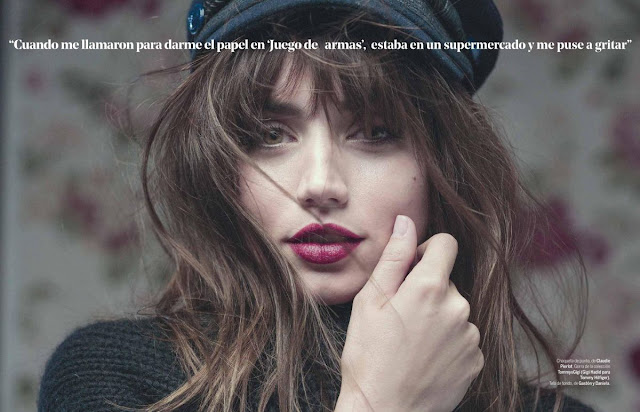 Ana De Armas PhotoShoot for Yo Dona Magazine Spain September