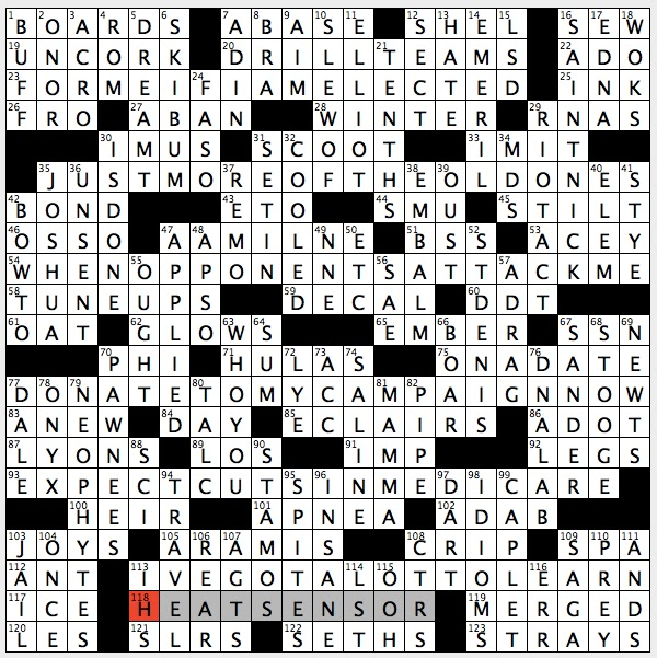 Rex Parker Does The Nyt Crossword Puzzle Amphibious W W Ii Vessel Sun 1 10 16 First Gemstone Mentioned In Bible Bambino S First Word Ornithologist James Poke Kids Book Series