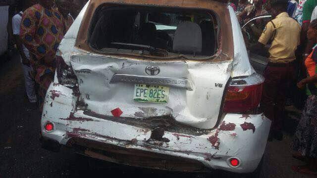 malaika car accident