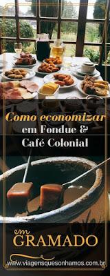 Fondue e Cafe Colonial em Gramado