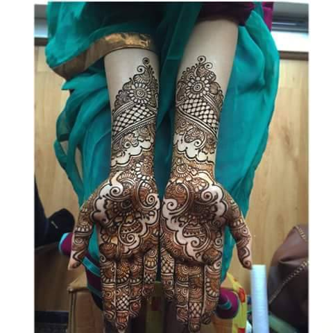 Bridal Mehandi Design 3