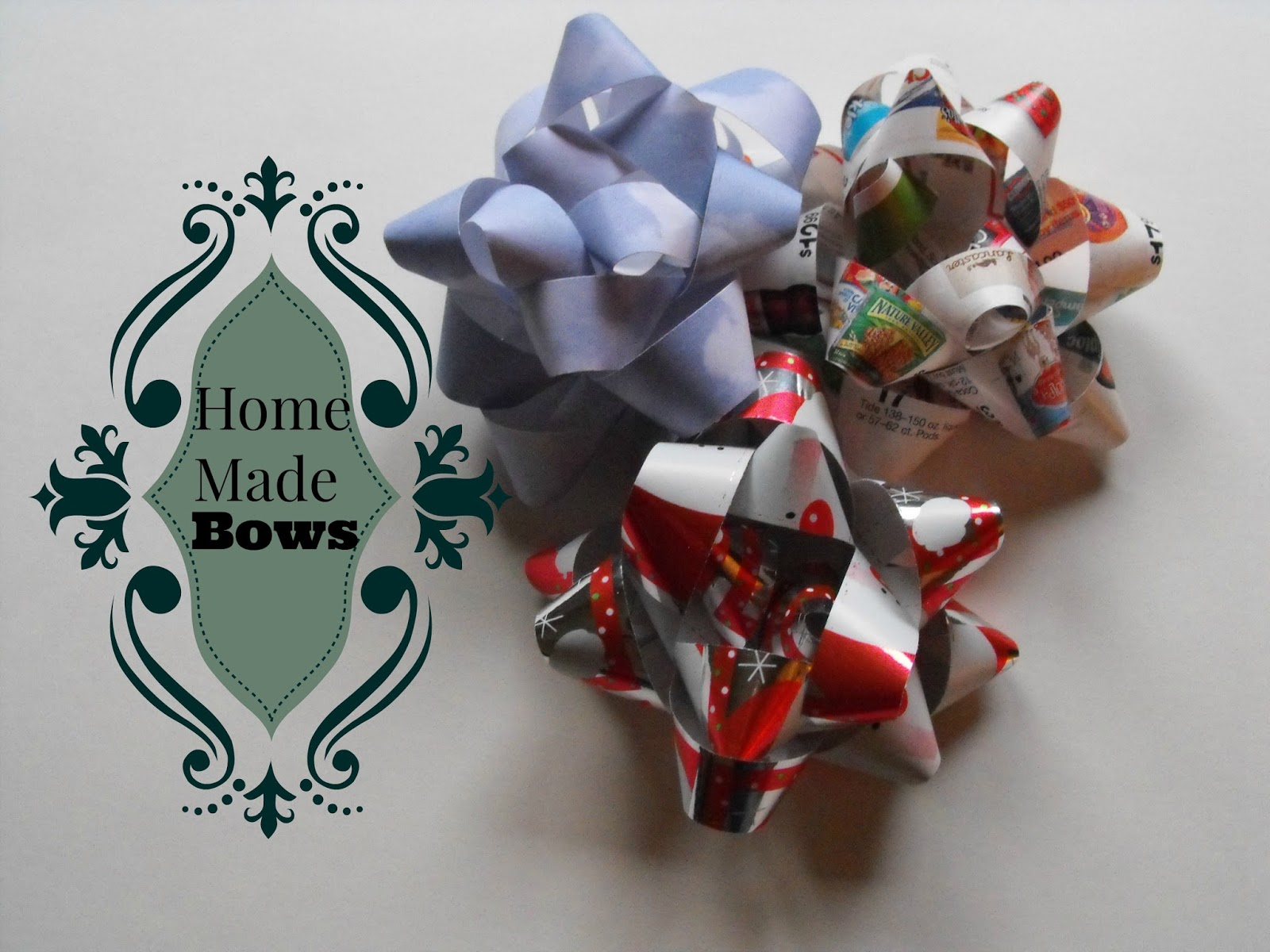 how to make a bow with wrapping paper