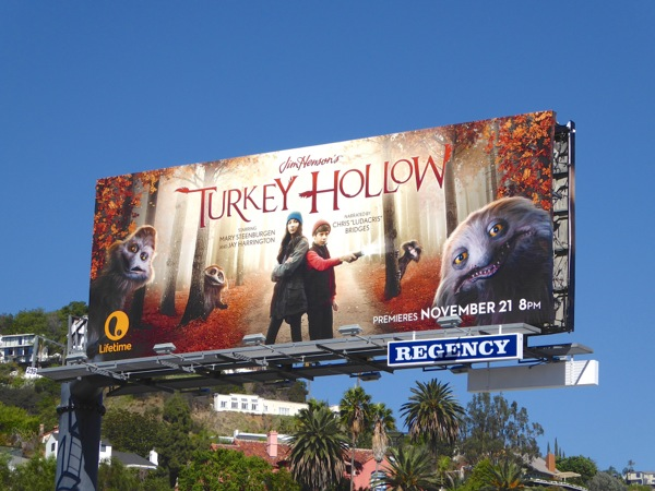 Turkey Hollow Lifetime movie billboard